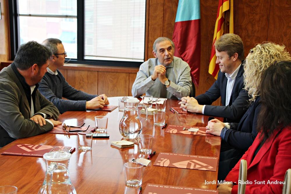 Reunió Ajunatment empreses programa Sant Andreu Avança 01