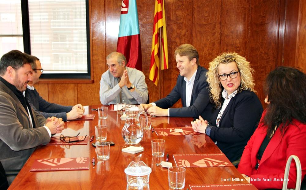 Reunió Ajunatment empreses programa Sant Andreu Avança 03