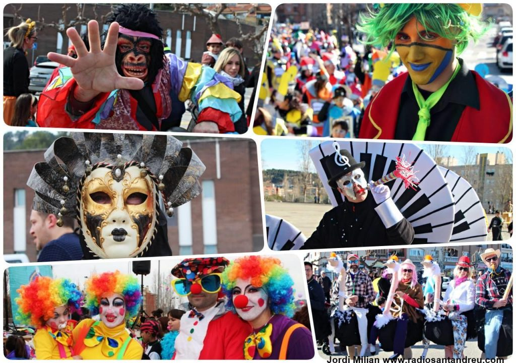 collage carnaval
