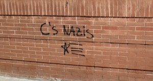 pintada 'nazis' Ciutadans