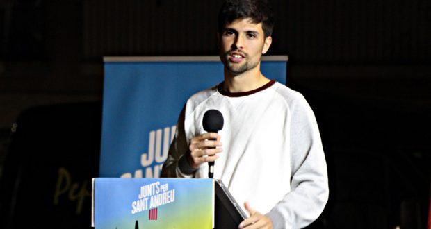 David Romero candidat Junts per Sant Andreu - 01
