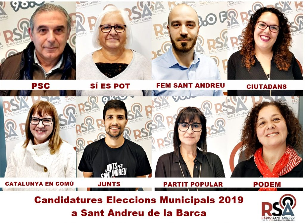 CANDIDATURES ELECCIONS MUNICIPALS SAB 2019