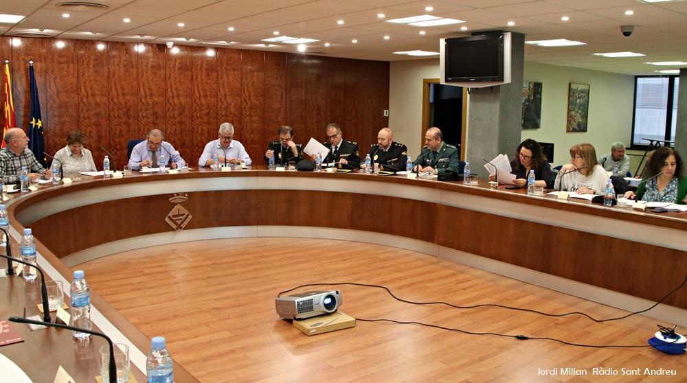 Junta Seguretat Local SAB ABRIL 2019 - 01