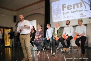 Presentació candidatura Fem Sant Andreu  02