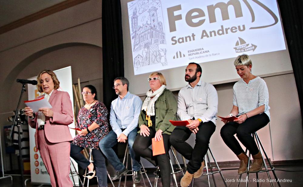Presentació candidatura Fem Sant Andreu 03