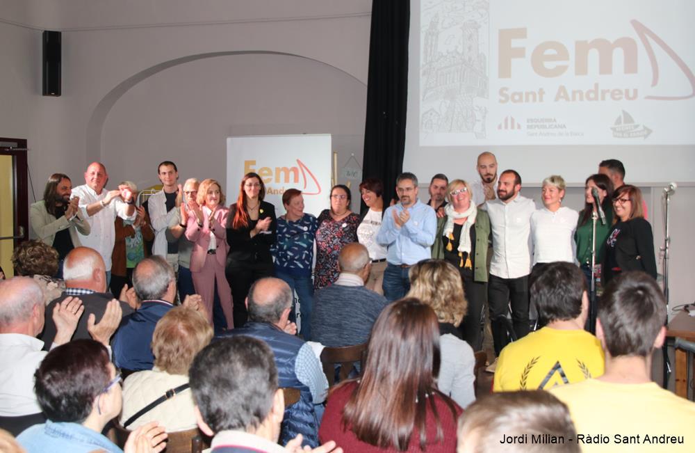 Presentació candidatura Fem Sant Andreu
