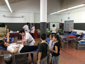 Donació sang escola Josep Pla 2019 04ç