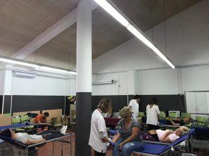 Donació sang escola Josep Pla 2019 05