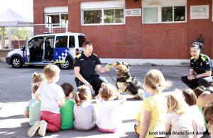Unitat Canina a l'escola bressol El Cavallet 01