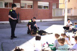 Unitat Canina a l'escola bressol El Cavallet 02