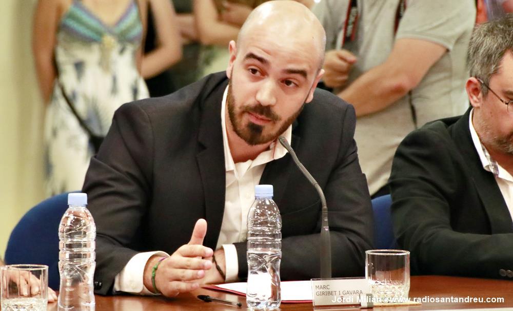 Constitució Ajuntament 2019 09 Marc Giribet FEM SANT ANDREU