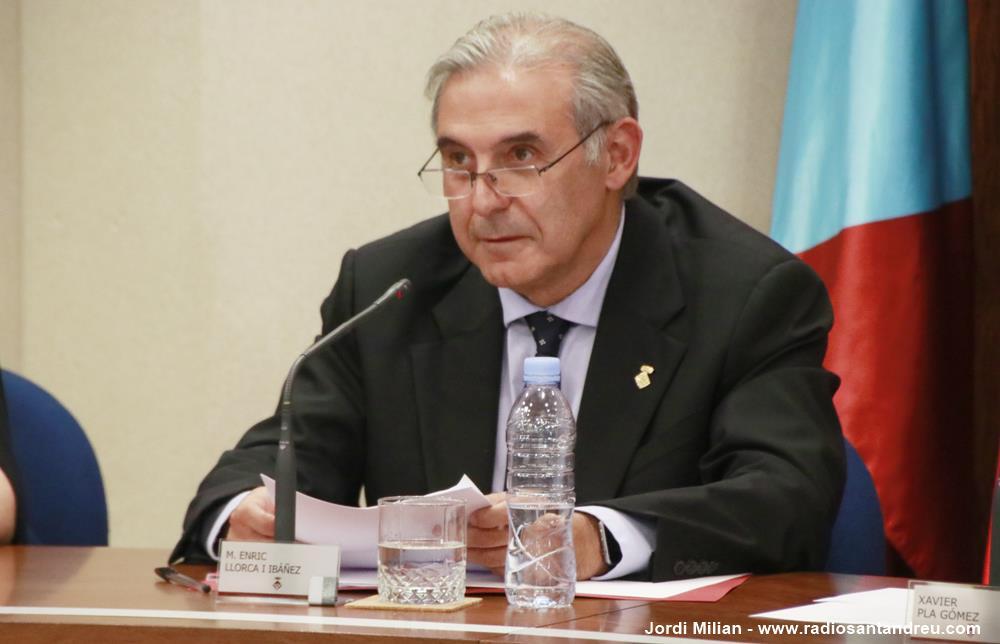 Constitució Ajuntament 2019 10 Enric Llorca del PSC