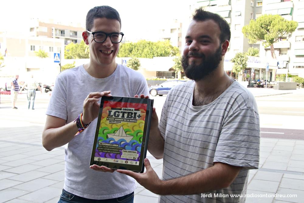 Presentació acte orgull LGTBI
