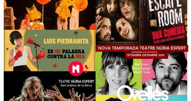 teatre nuria espert temporada 2019 setembre  2