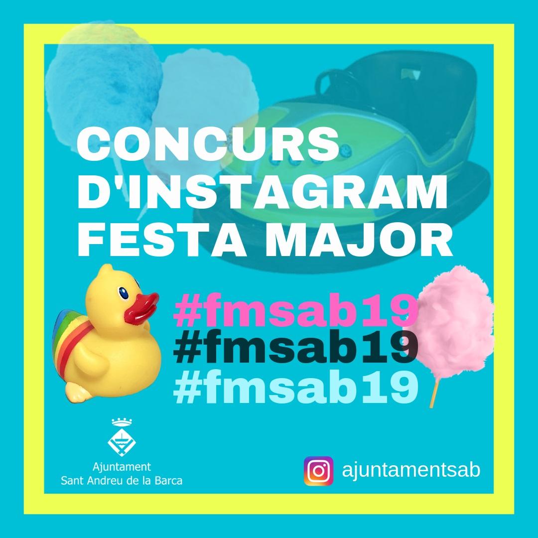 CONCURS D'INSTAGRAM FESTA MAJOR