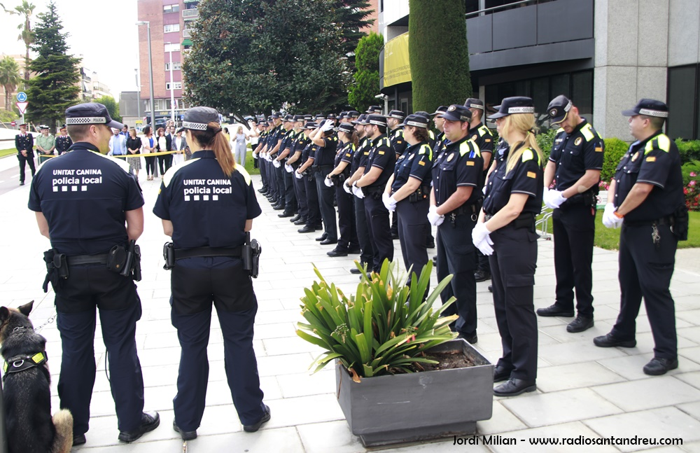 Acte patró Policia Local Sant Andreu Barca 04