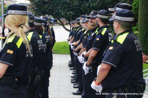 Acte patró Policia Local Sant Andreu Barca 05
