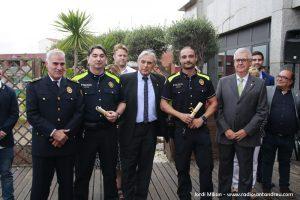 Acte patró Policia Local Sant Andreu Barca 09