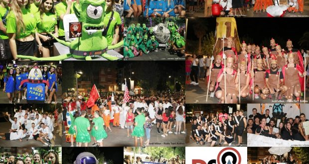 Collage Gimcana Nocturna