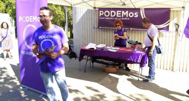 Carpa Podemos Sant Andreu de la Barca 01