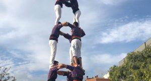Castellers Adroc Trobada Baix Llobregat 01