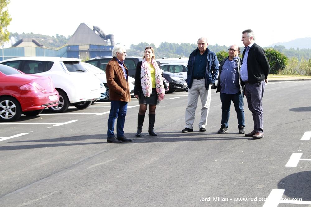 Finalitzada primera fase aparcament Barri La Solana 03