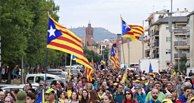 Marxa pèer la Llibertat a Sant Andreu Barca 01