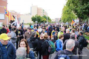Marxa per la Llibertat a Sant Andreu Barca 07