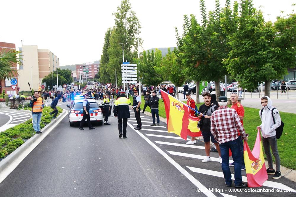 Marxa per la Llibertat a Sant Andreu Barca 09