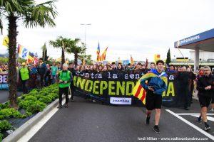 Marxa per la Llibertat a Sant Andreu Barca 11