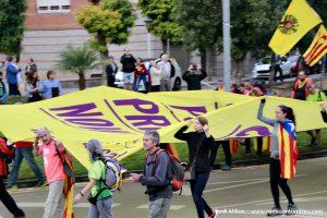 Marxa per la Llibertat a Sant Andreu Barca 15