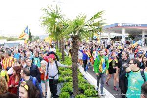 Marxa per la Llibertat a Sant Andreu Barca 17