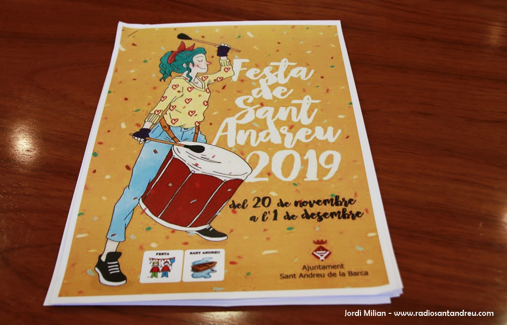 Cartell Festa Sant Andreu 2019 - 02