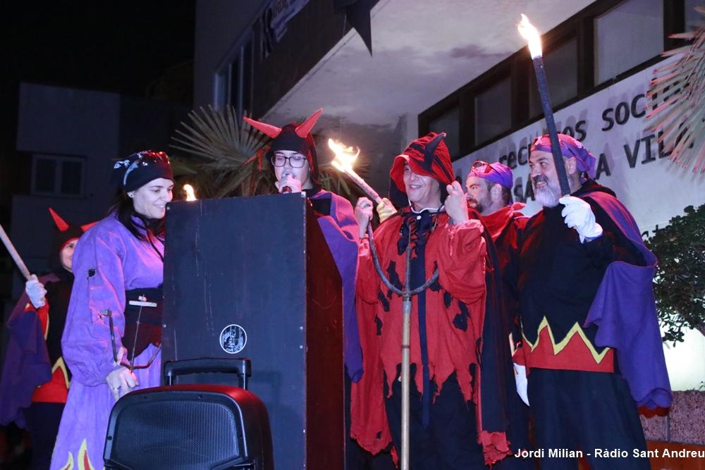 Correfoc i versots Festa Sant Andreu 2019 01
