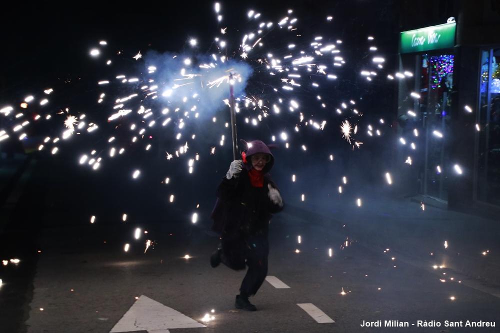 Correfoc i versots Festa Sant Andreu 2019  04