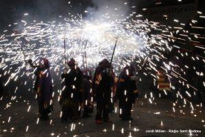 Correfoc i versots Festa Sant Andreu 2019  05
