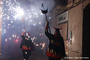 Correfoc i versots Festa Sant Andreu 2019  07