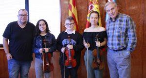 Recepció alumnes Escola Música Ajuntament 01