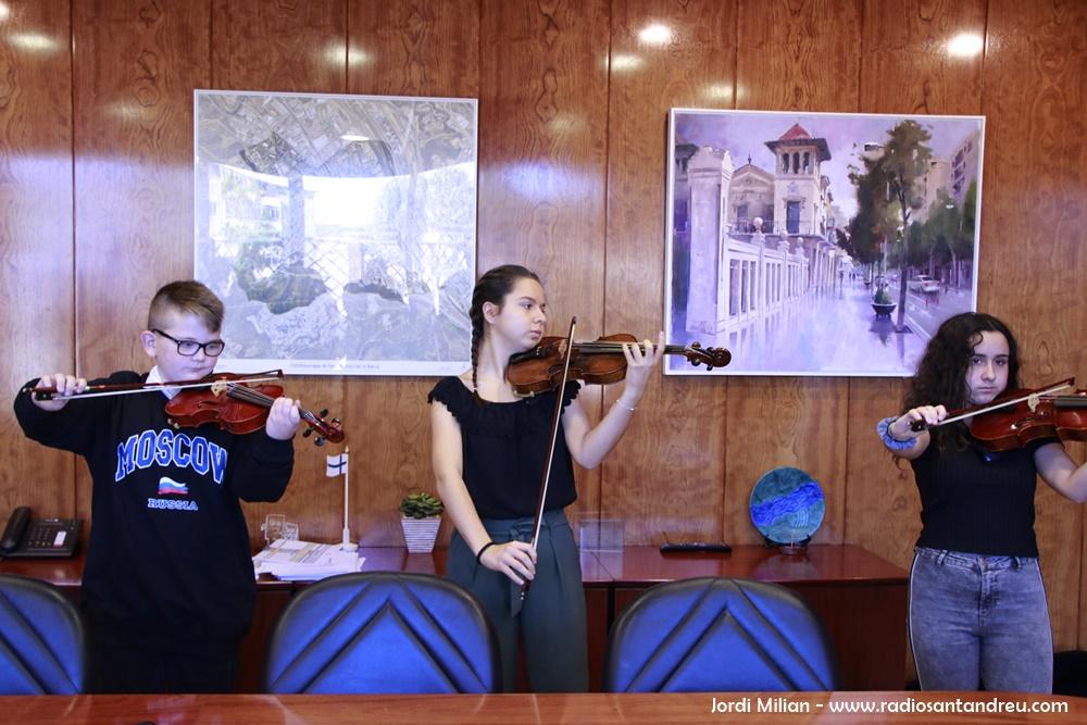 Recepció alumnes Escola Música Ajuntament 08
