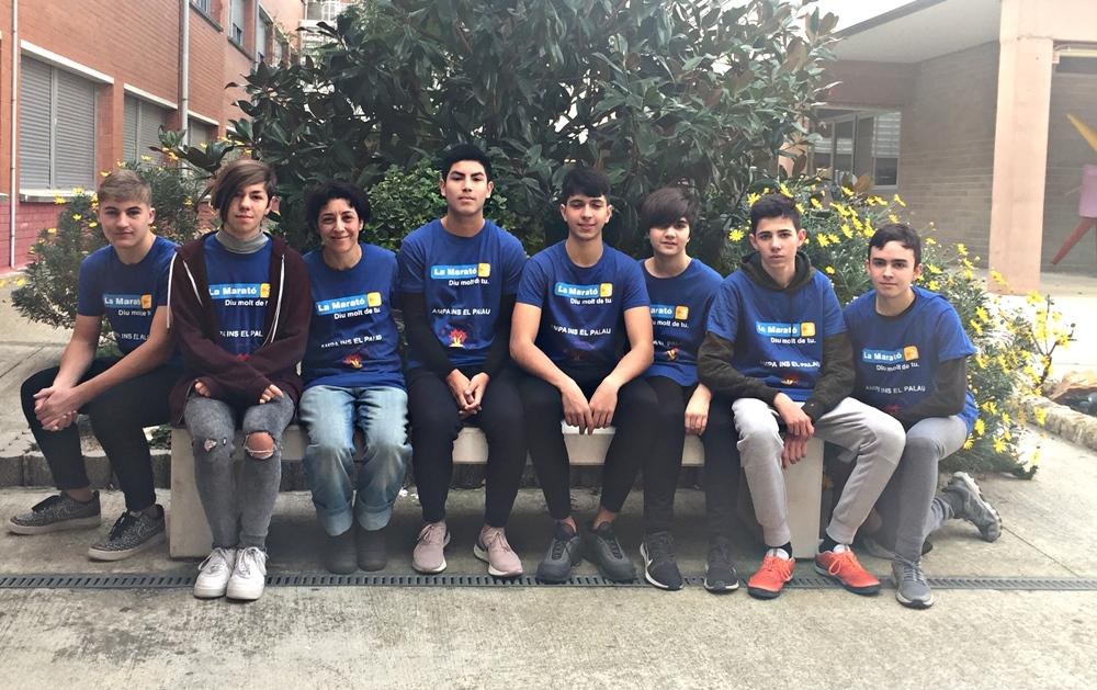 Marató TV3 IES EL PALAU 2019 -02
