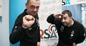 Pep Mas i Anselm Moya Dakar 2020