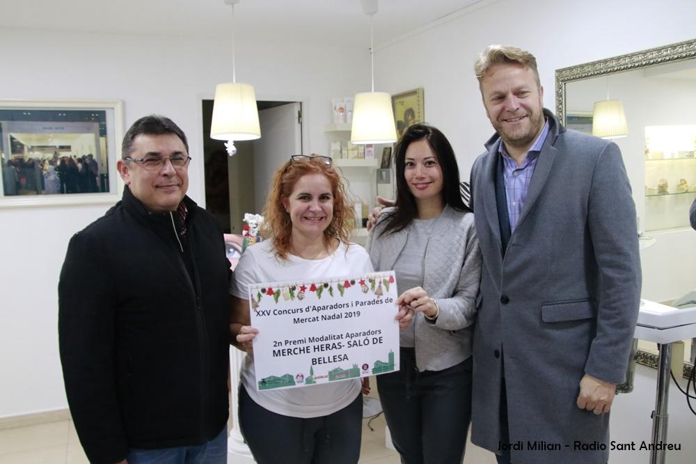 Premis Aparadors - 2n PREMI MERCHE HERAS- SALÓ DE BELLESA 02