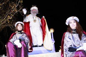 Cavalcada 2020 Reis Mags Sant Andreu Barca 11