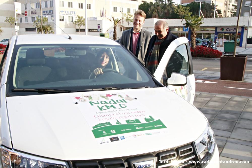Lliurades claus cotxe Campanya Nadal Comerç Local - 02
