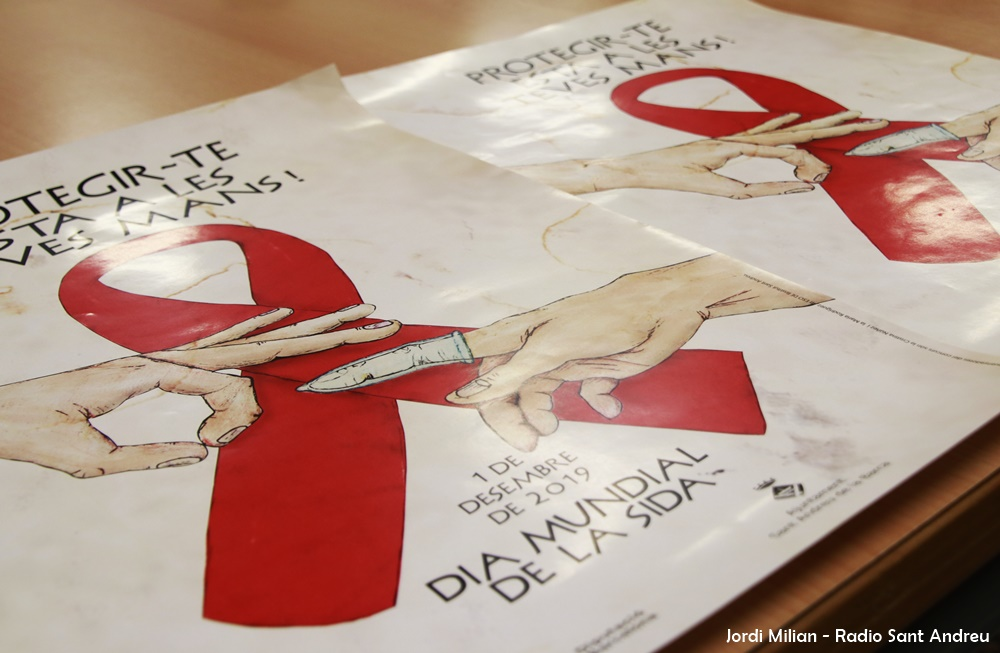 Lliurament premi cartell campanya Sida a Sant Andreu Barca 03