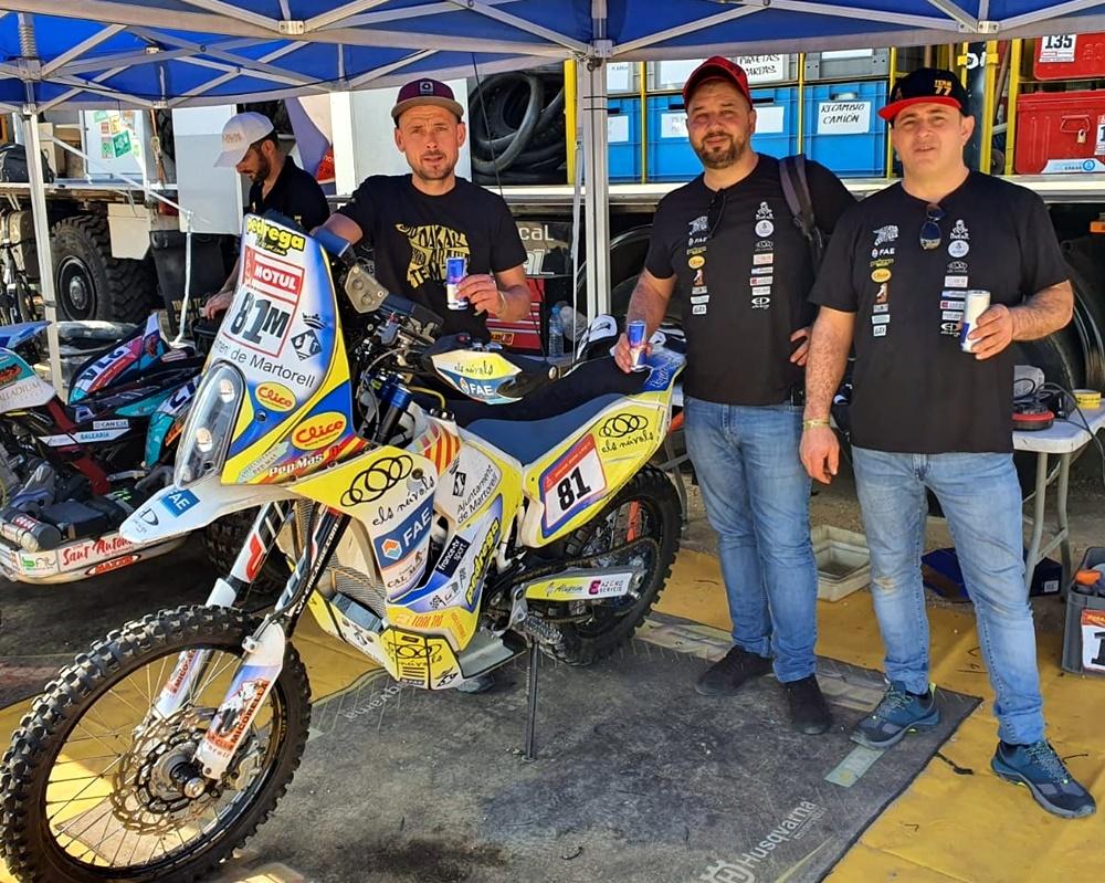 Pep Mas - Ansel Moya Rally Dakar 2020