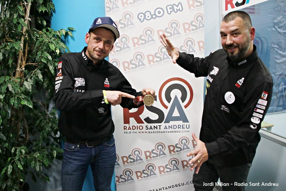 Pep Mas i Anselm Moya DAKAR 2020  - 02
