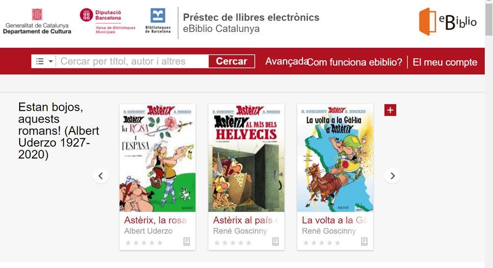 Biblioteca prèstecs digitals