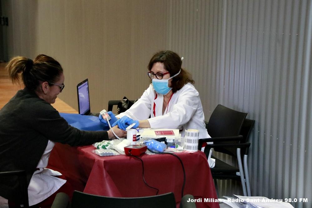 Donació de sang Sant Andreu de la Barca 10