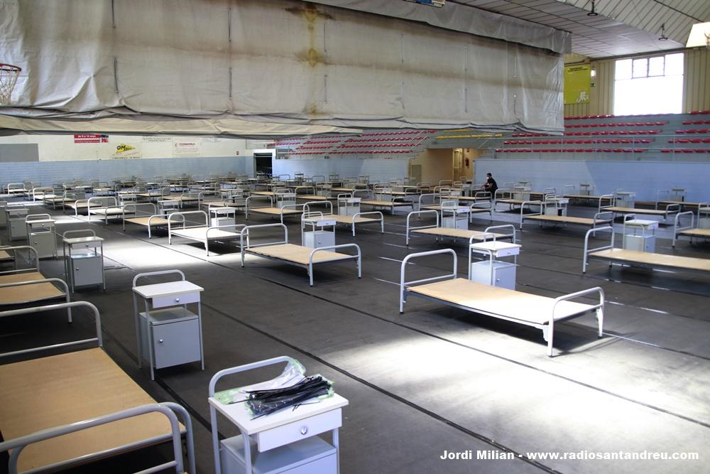 Poliesportiu SAB hospital de campanya 01